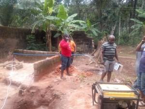 27/04/2016 – Pozzo di Ogbor Nguru in Nigeria: quasi terminata la costruzione!